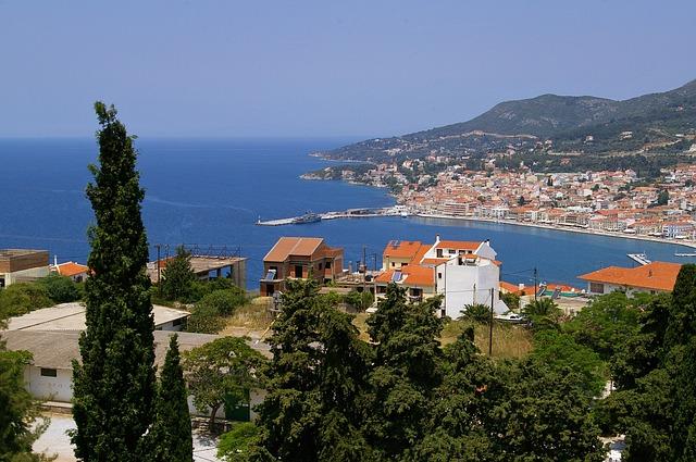 pobřeží Řecka