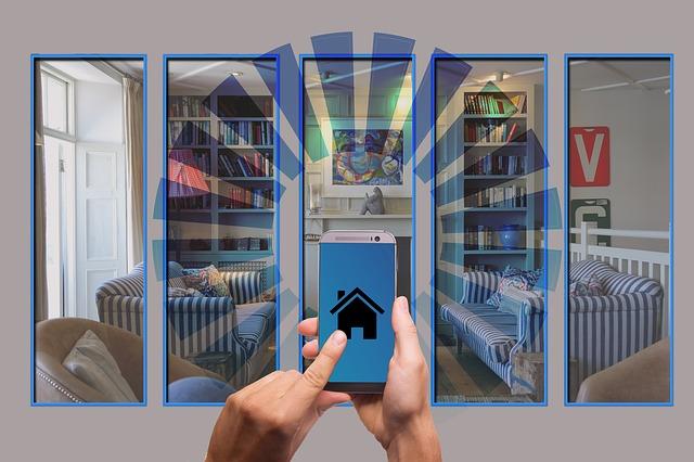 inteligentní domácnost v mobilu