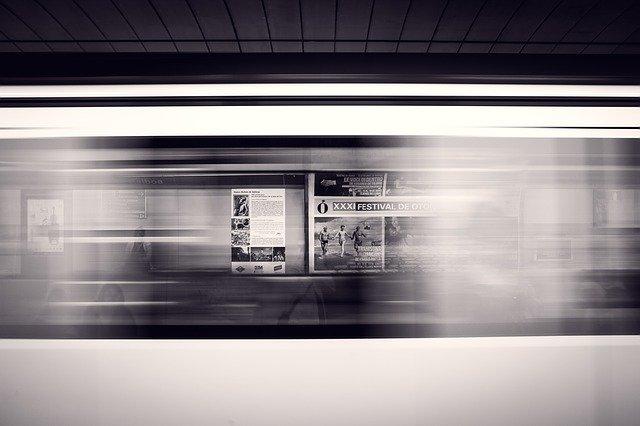 reklama v metru