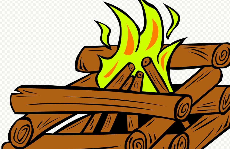 ohniště táborák