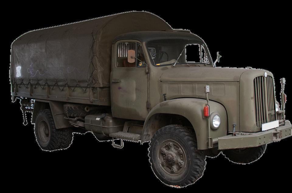 převoz nákladním autem
