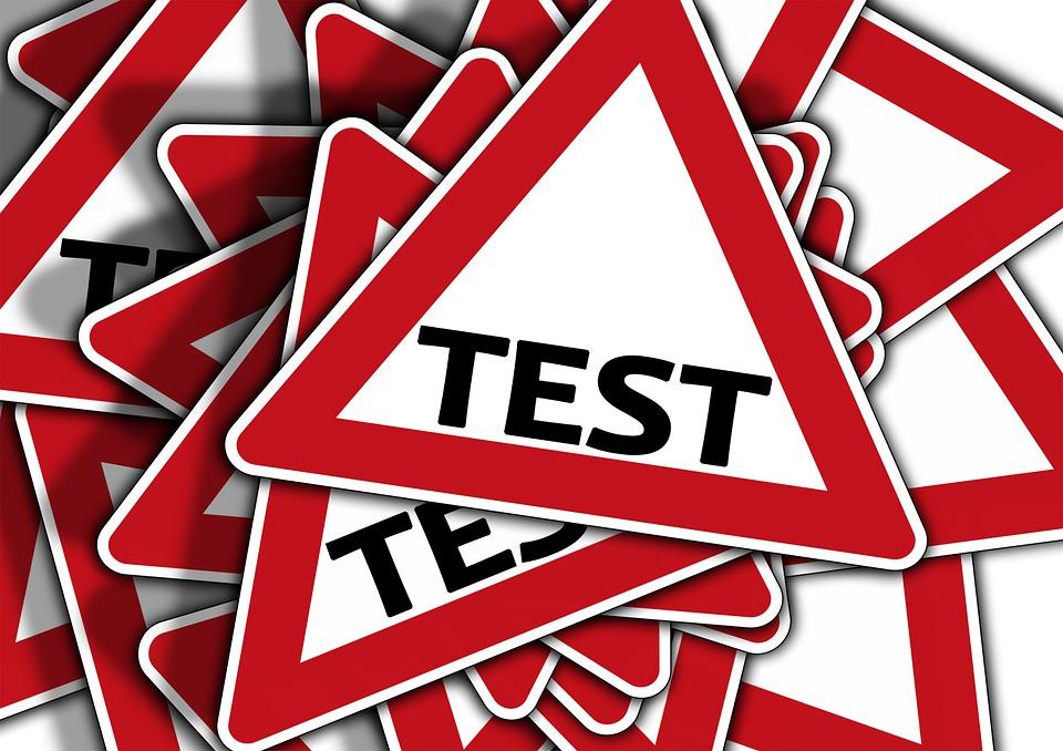 značka Test